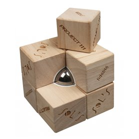 """Reklaminis antistresinis žaislas-streso slopintuvas su magentu """"Cube"""""""