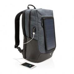"""Kuprinė """"Eclipse"""" su saulės baterija, Jūsų logotipu, reklama."""