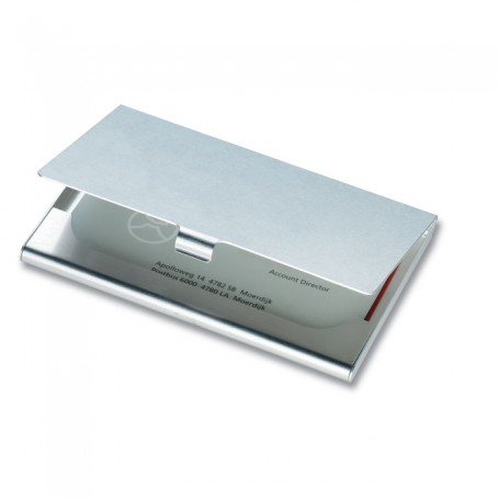 EPSOM - Aluminium business card holder