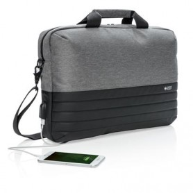 "Reklaminis kompiuterio krepšys ""SAFE"" su USB lizdu"