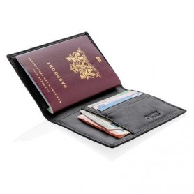 """Saugus kortelių ir paso dėklas """"Antiscam"""" su RFID apsauga"""