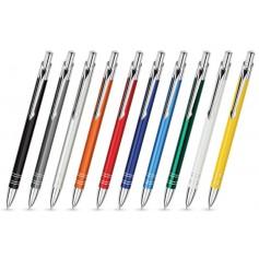 """Metaliniai rašikliai su užrašu ar logotipu """"BON"""""""