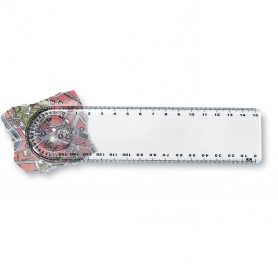 LASTA - Ruler with magnifier