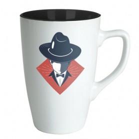 """Reklaminis matinis puodelis su logo """"MATTIC"""""""