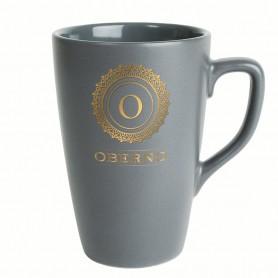 "Matinis keramikinis puodelis su logotipu ""DARK"""