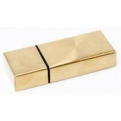 Išskirtinė USB atmintinė su reklama GOLD
