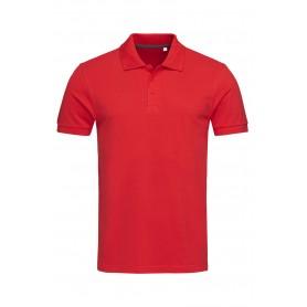 """Reklaminiai klasikiniai vyriški Polo marškinėliai su spauda """"HARPER"""""""