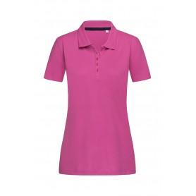 """Reklaminiai moteriški POLO marškinėliai su logotipu """"HANNA"""""""