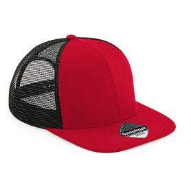 """Reklaminės tinklelinės FULL CAP kepurėlės su logotipo spauda """"FLAT"""""""