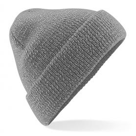 """Reklaminės žieminės šiltos kepurėlės su logotipo spauda """"REFLECT"""""""