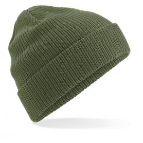 """Reklaminės žieminės megztos kepurėlės su spauda """"KNIT"""""""