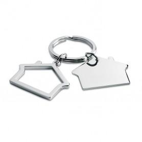 SNIPER - Metal key ring house shape