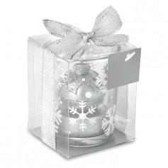 GLITTERIE - Glass candleholder