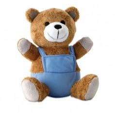 NICO - Bear plush w/ advertising pants
