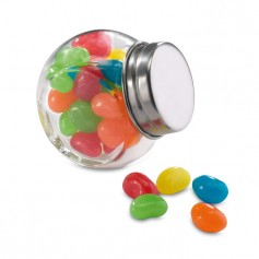BEANDY - Glass jar with jelly beans