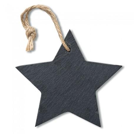 SLATESTAR - Slate xmas hanger star