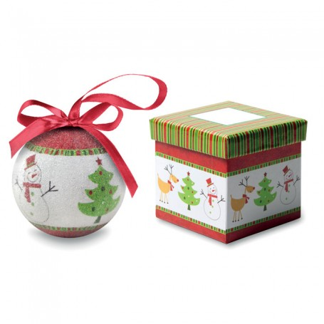 SWEETY - Christmas bauble in gift box