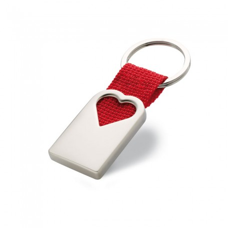 BONHEUR - Heart metal key ring
