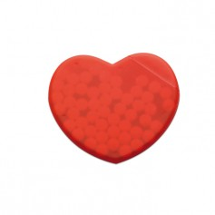CORAMINT - Heart shape peppermint box