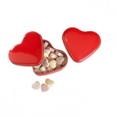 LOVEMINT - Heart tin box with candies