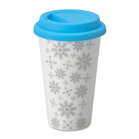 SONDRIO - Double wall ceramic travel cup
