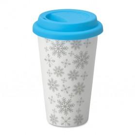 SONDRIO - Double wall ceramic travel cup
