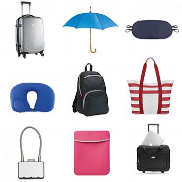 Kelionės reikmenys, skėčiai, lagaminai, tašės, dėklai | Mano reklama